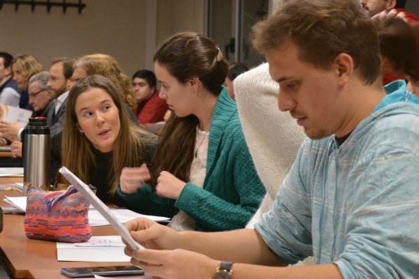 La Academia busca formar a los líderes del futuro /C. Bellocq