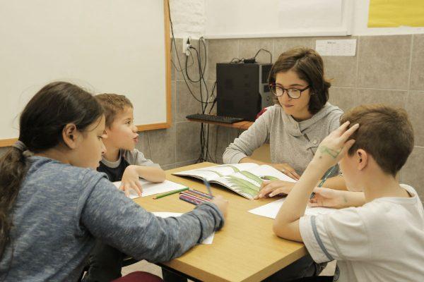 El club de niños de Gurisaes recibe a 124 chicos de entre 4 y 12 años. /G. DE LUCA