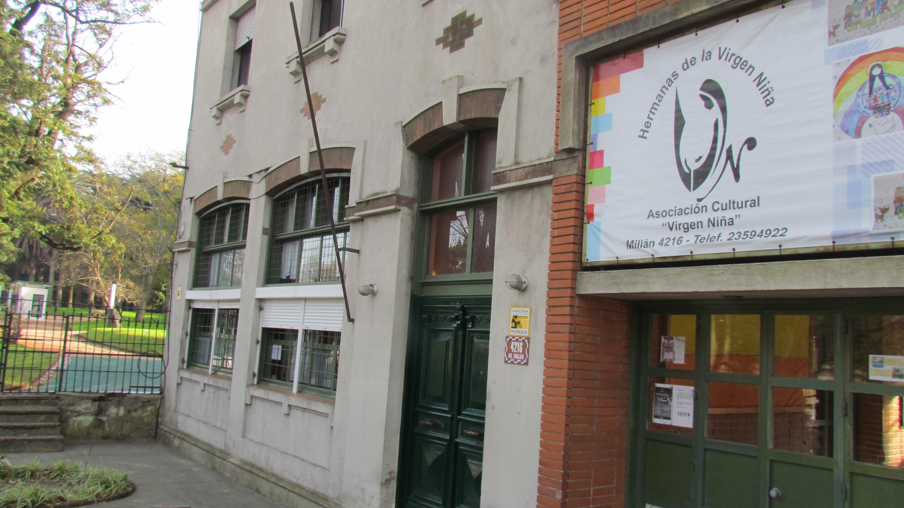 106 niños asisten a diario al club de niños y CAIF . FUENTE: Centro Virgen Niña