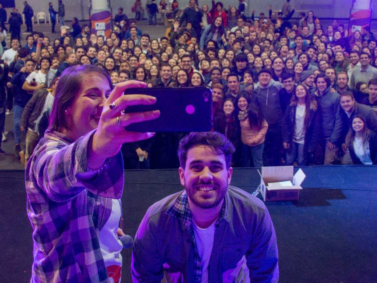 Unos 700 jóvenes participaron en la Jornada /A. González
