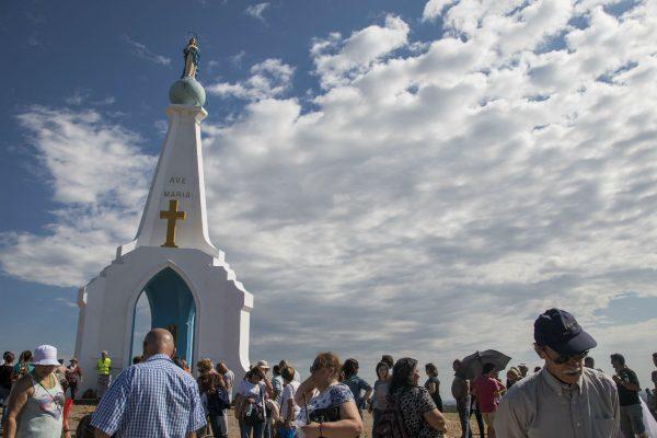 El Verdún, en Minas, es uno de los destinos religiosos más visitados /G. DE LUCA