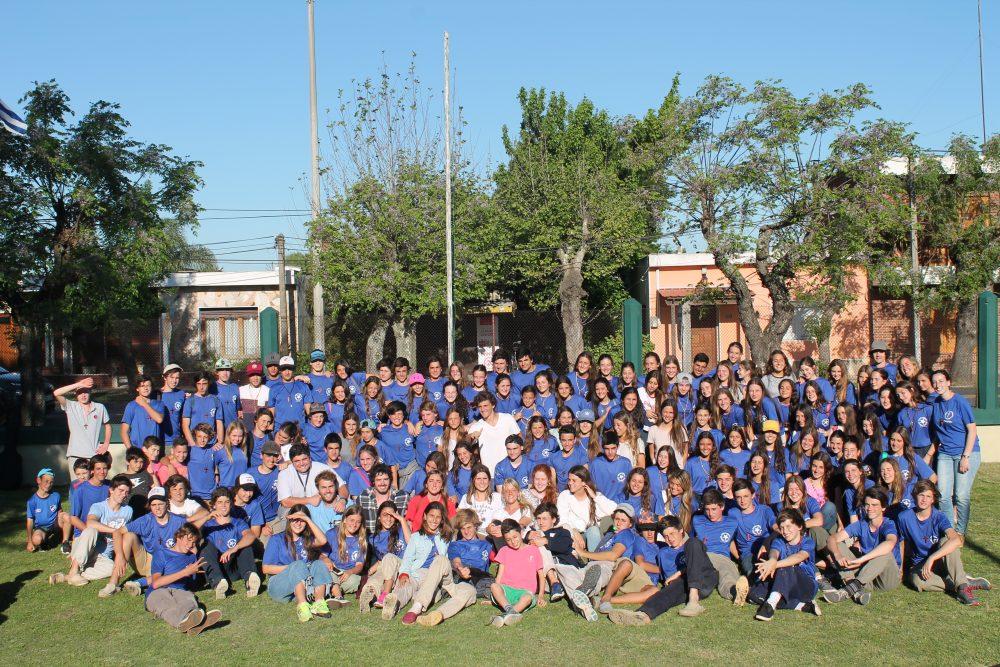 Los jóvenes en la misión de PreConf. /Fuente: Parroquia Stella Maris