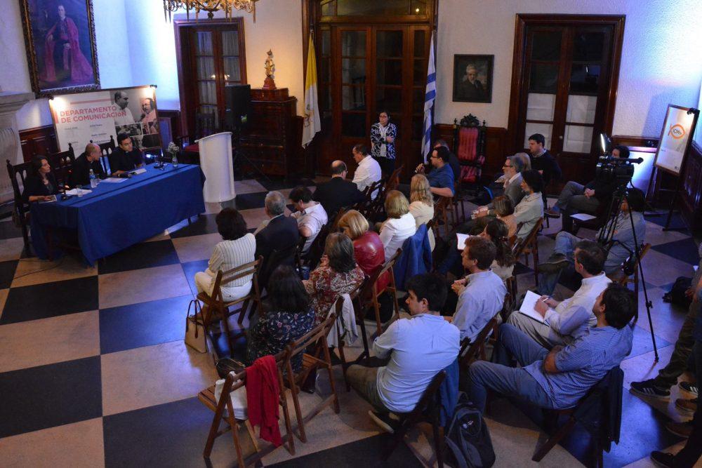 Presentación  de las comisiones de trabajo del Club Católico/ Fuente: Mariana Garófalo - Club Católico