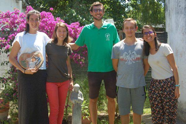 Florencia, Matilde, Benjamín, Kamil y Sofía. DECOS