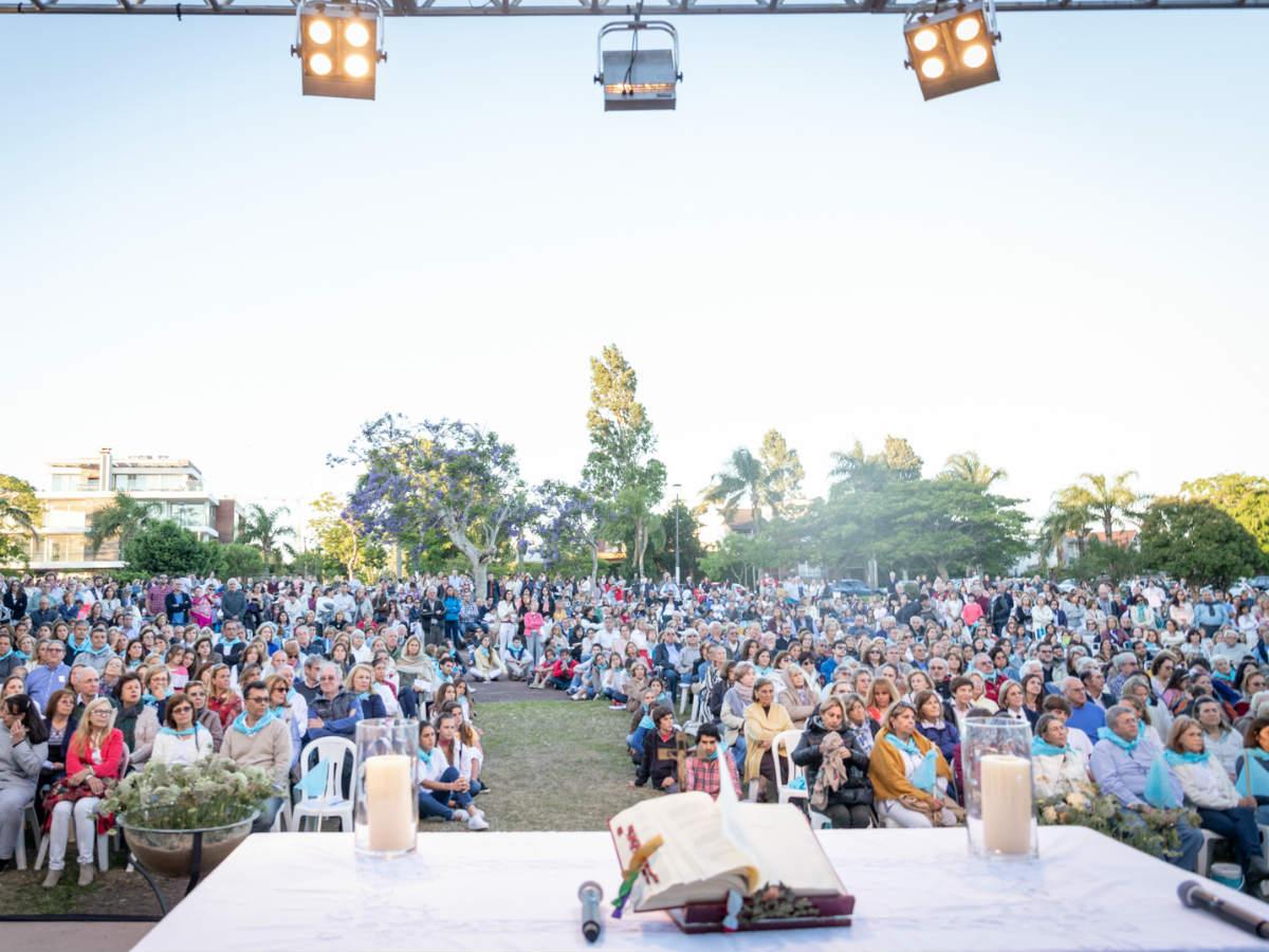 La celebración fue en la Plaza Suiza de Punta Gorda /F. GUTIÉRREZ