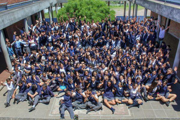 Comunidad educativa del Liceo Jubilar/ Fuente: Liceo Jubilar