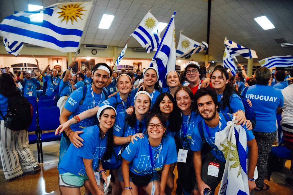 Misa y encuentro de jóvenes uruguayos en la JMJ/ Fuente: Martín Freire