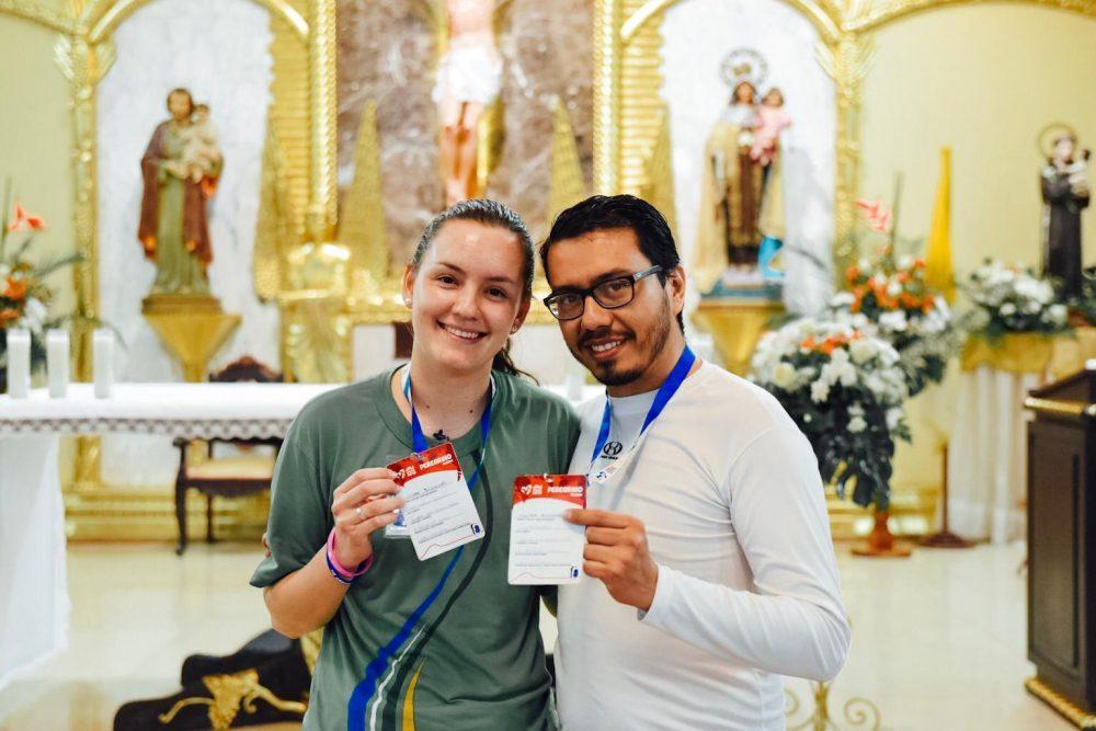 Soledad y Milton, 48 horas antes de su casamiento/ Fuente: Martín Freire
