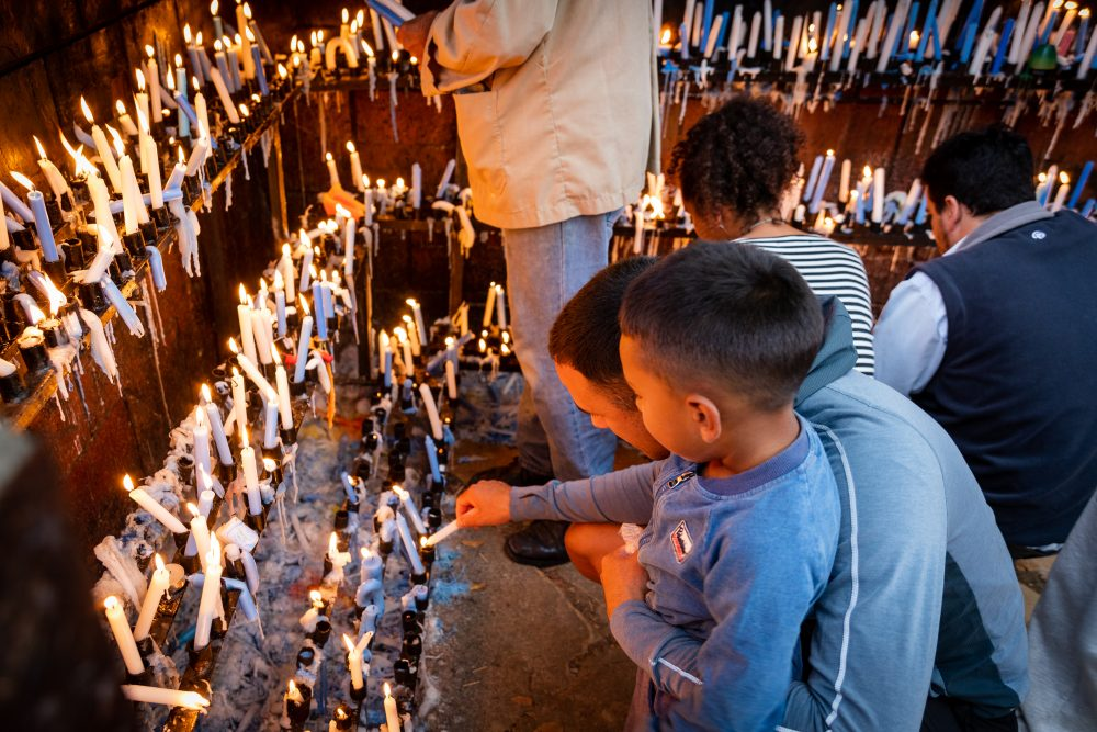 Fiesta de la Virgen de Lourdes/ Fuente: Federico Gutiérrez