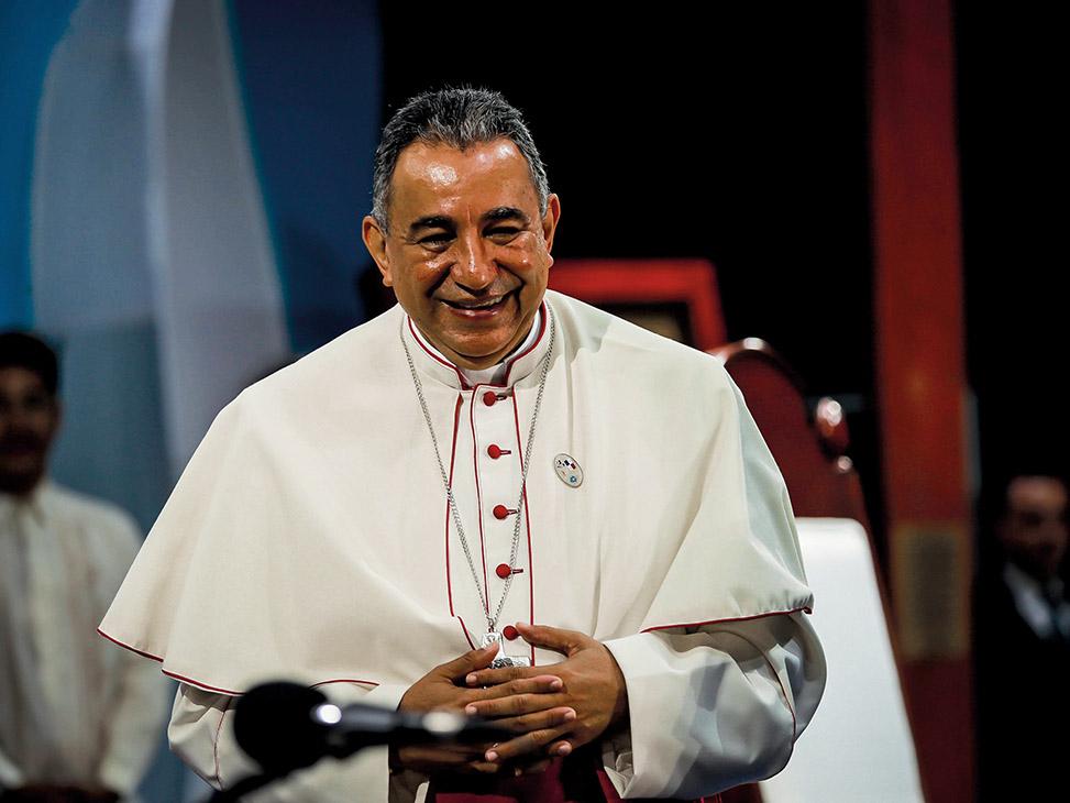 Mons. Ulloa es agustino, Arzobispo de Panamá desde 2010 y presidente de la Conferencia Episcopal Panameña desde 2013 /FLICKR JMJ PANAMÁ 2019