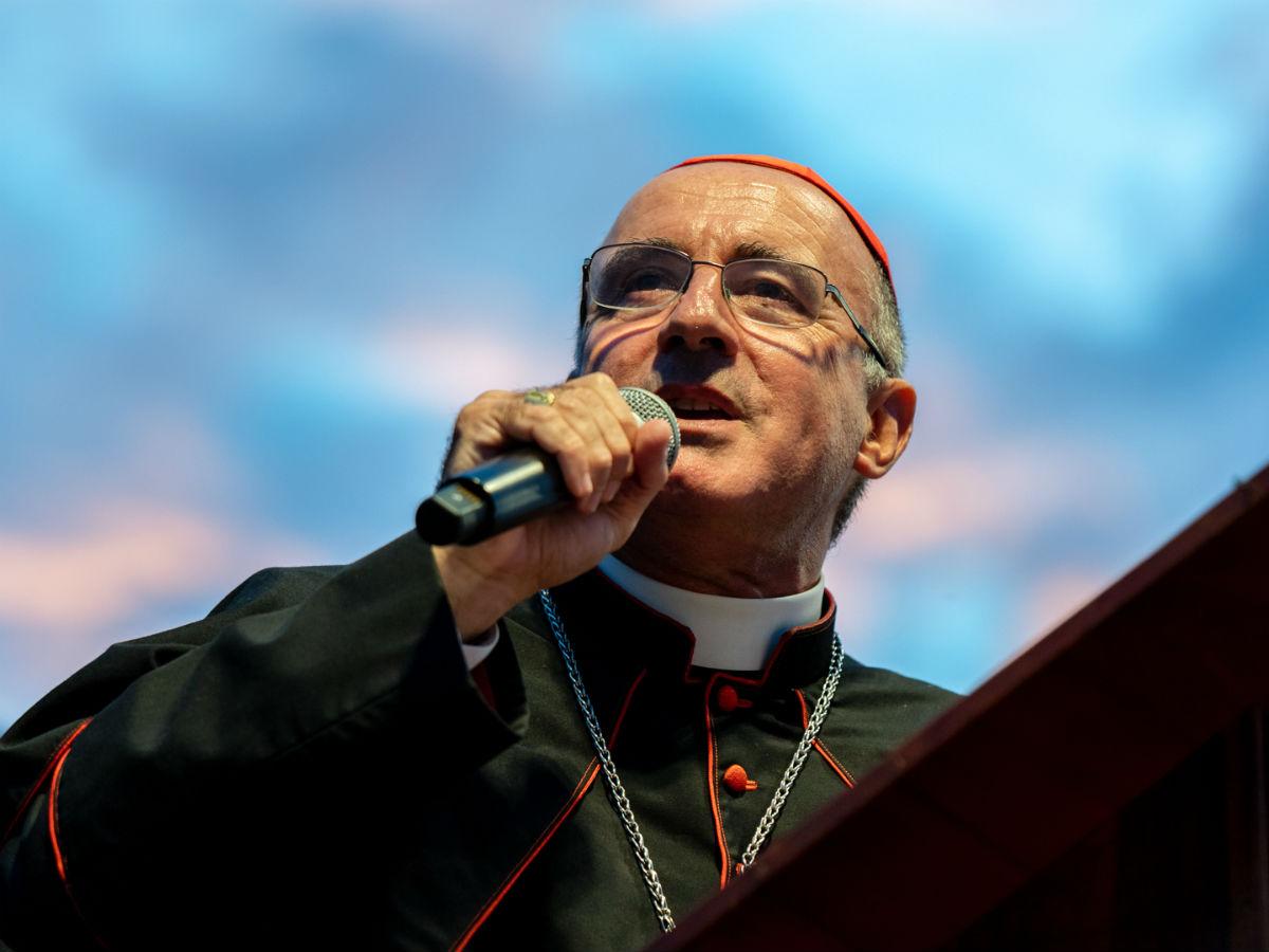 Card. Danuel Sturla, Arzobispo de Montevideo /F. Gutiérrez