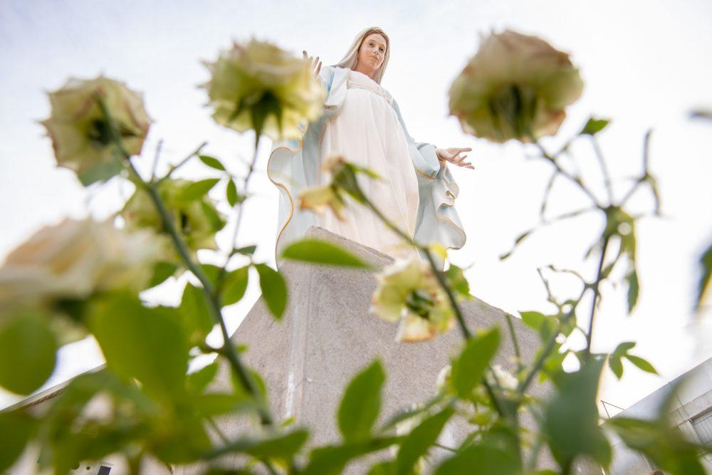 Imagen de la Virgen en la Parroquia María Reina de la Paz/ Fuente: Federico Gutiérrez
