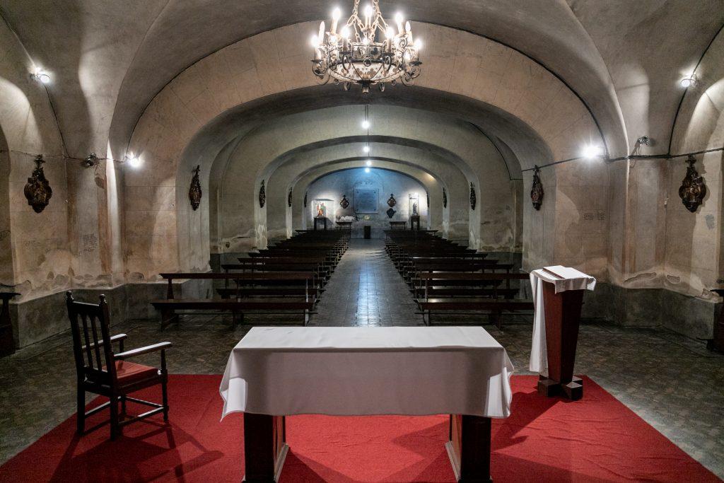 Cripta del Señor de la Paciencia. F. GUTIÉRREZ