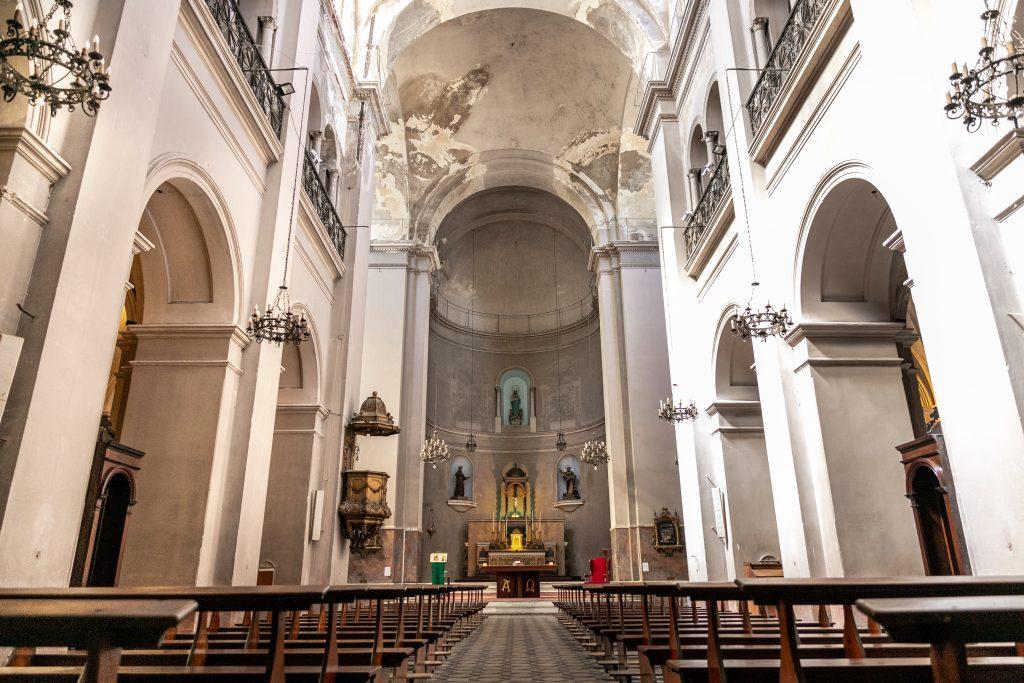 Desde 2007 se realizan obras de restauración en el templo. F. GUTIÉRREZ