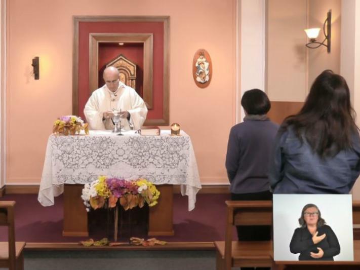 santa misa sordos