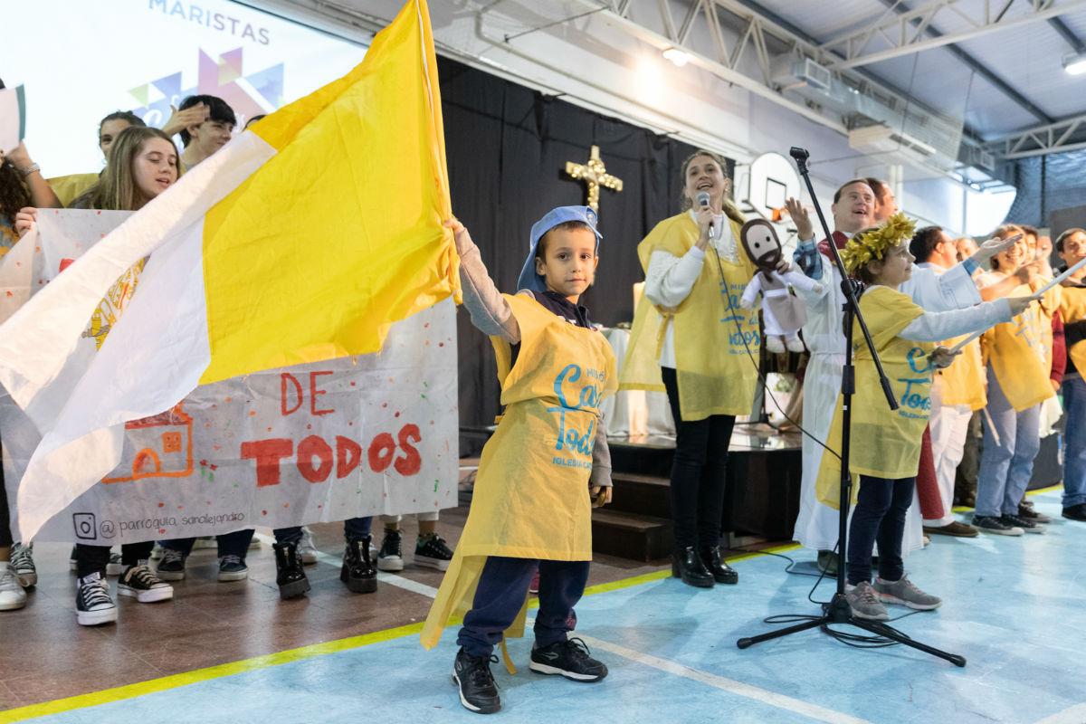 Todos se involucraron en el Encuentro Casa de Todos /F. GUTIÉRREZ