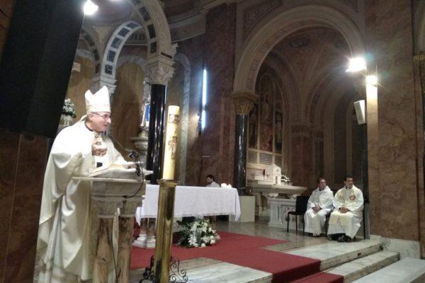 """Homilía durante la Misa por el tercer aniversario de """"La Palabra en vos""""/ Fuente: Fabián Caffa"""