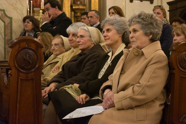 María Auxiliadora Delgado en la Misa por los 125 años de la llegada de la Madre Rubatto a Uruguay/ Fuente: Federico Elgue